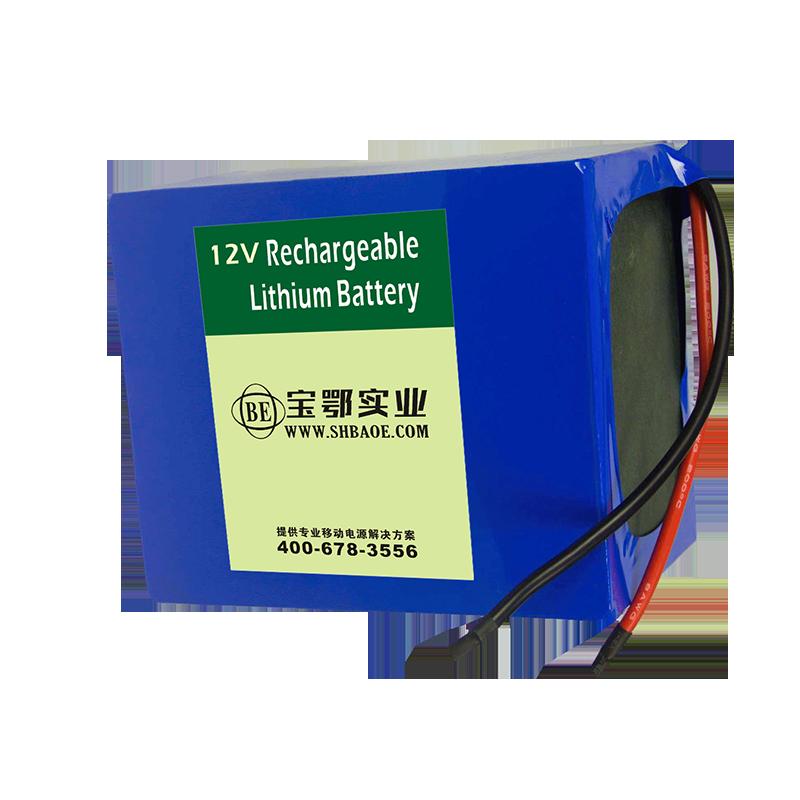12V-52AH   排爆机器人  扫雷机器人三元锂电池