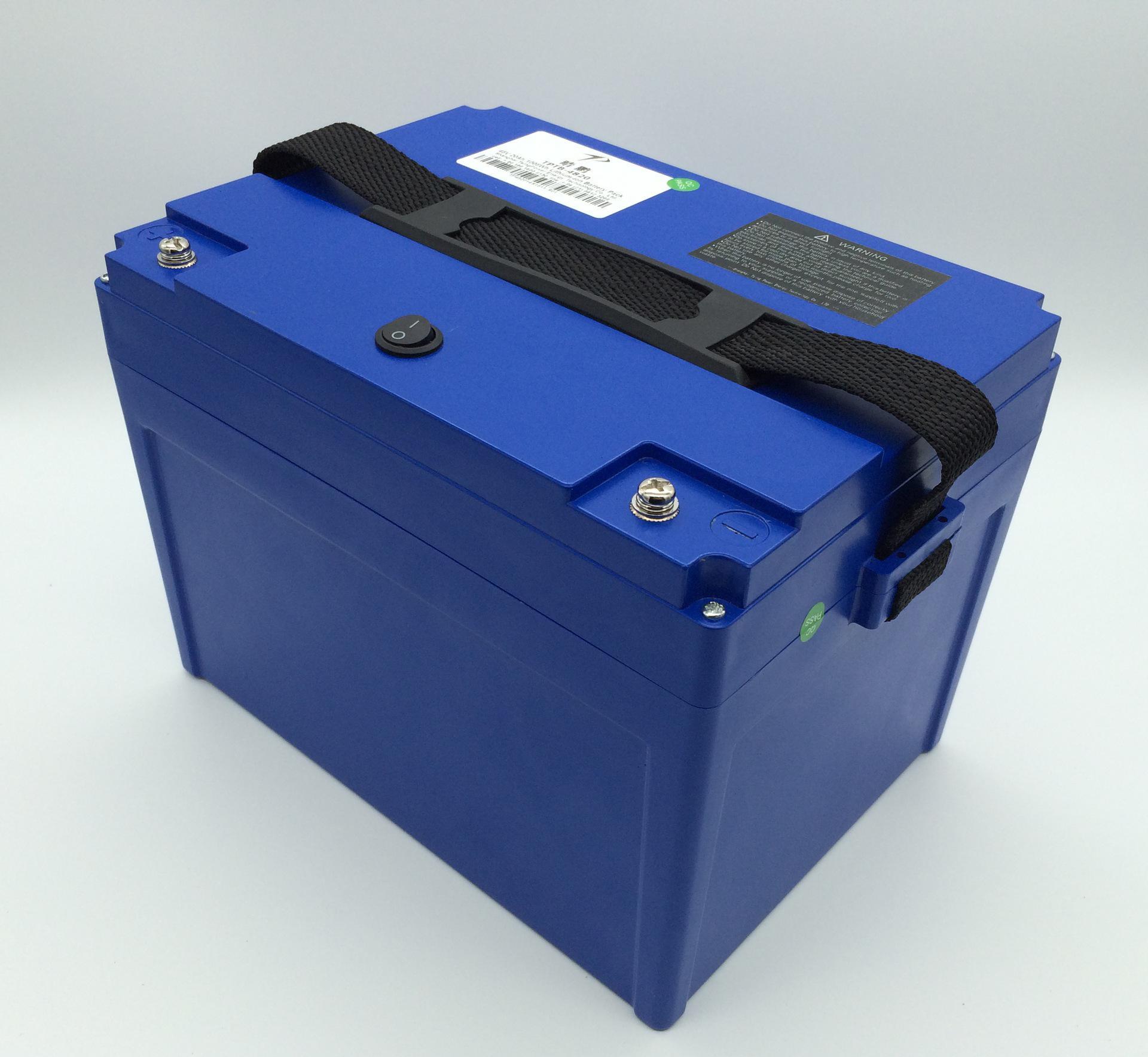 12V-100ah大容量锂电池  尾气检测电源  200AH牵引启动电源
