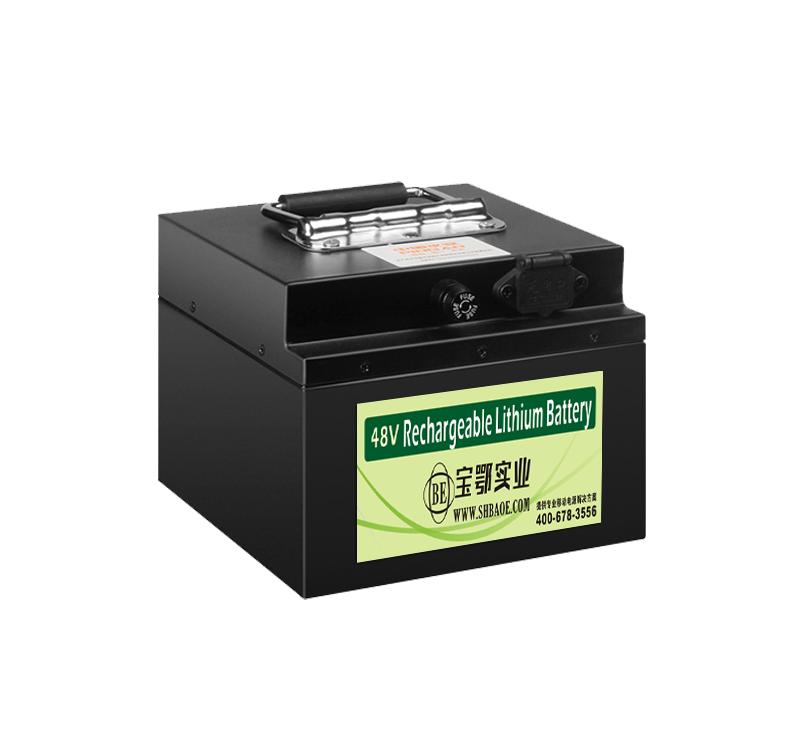 <b>AGV、穿梭车磷酸铁锂智能通讯锂电池</b>