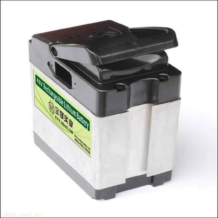 电动自行车48V25Ah磷酸铁锂电池