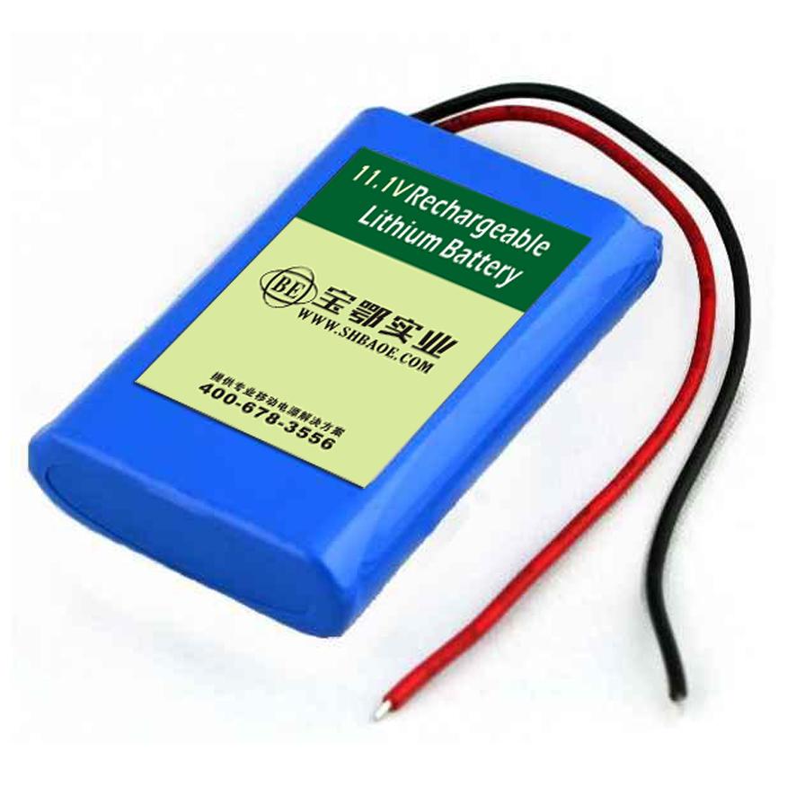 11.1v-3.6Ah科普教育机器人电池组