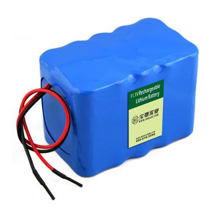 11.1V-10AH监测设备用锂电池组