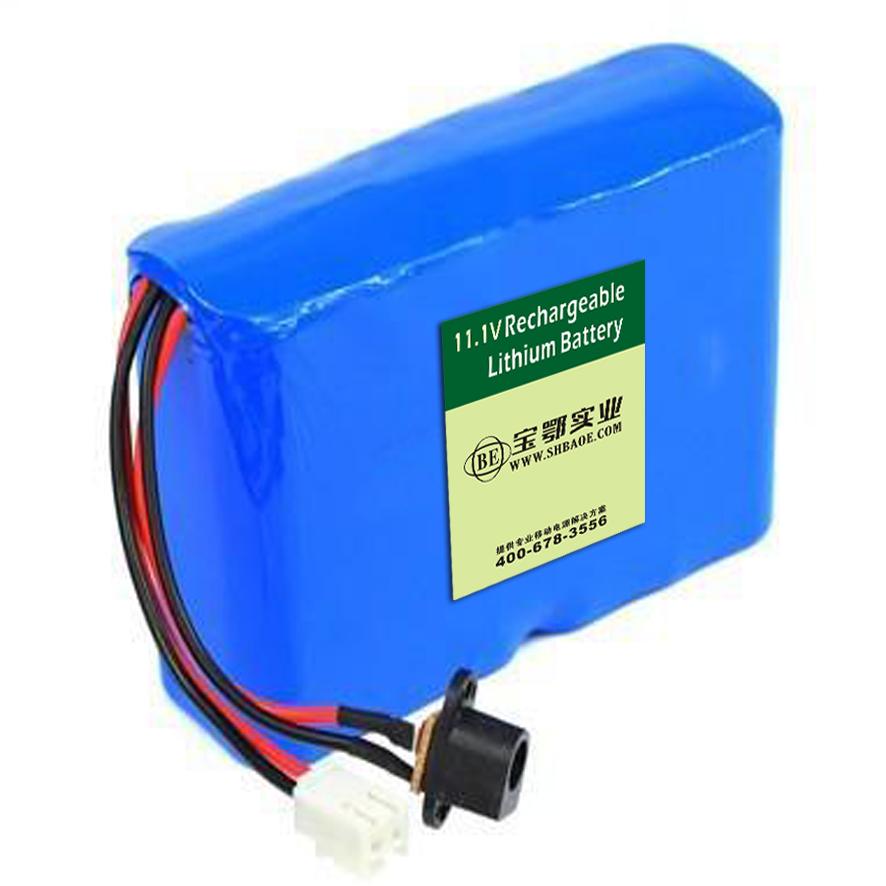 11.1V-5.2ah便携式探伤机锂电池组