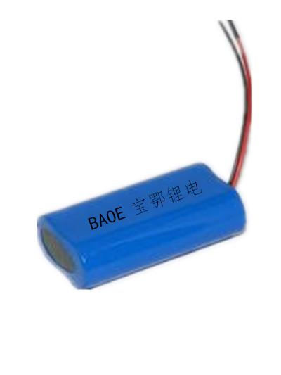 7.4V锂电池组1200mAh 照明,按摩器材,美容