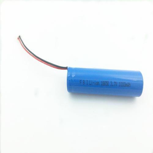 3.7v  1000mAh 18650动力锂电池