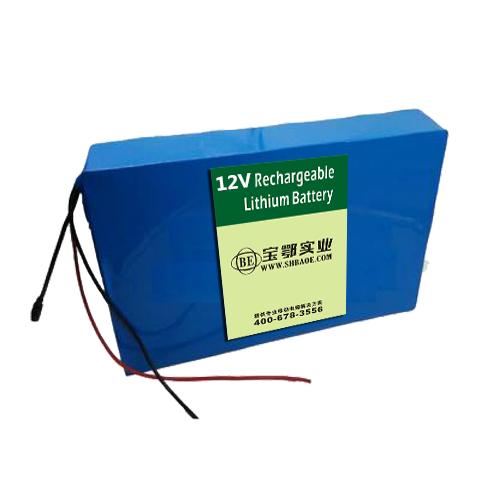 12V 50Ah 磷酸铁锂电池 旅游观光缆车索道锂电池