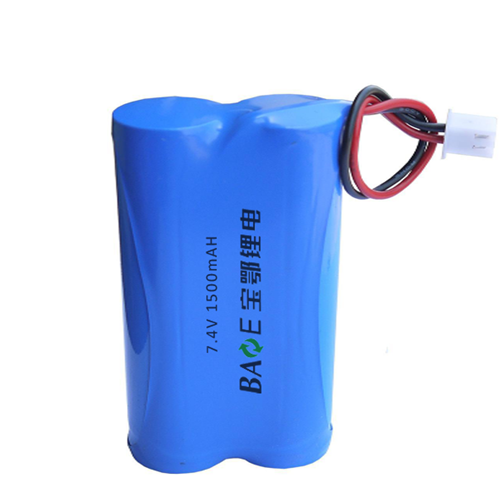 18650 7.4V 1.5AH 工业电池