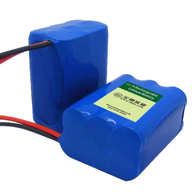 11.1V-4.4AH医疗器械呼吸机专用锂电池
