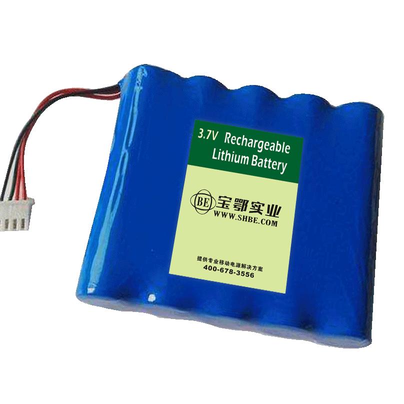 高速公路弯道指示灯 3.7V-10.4AH 18650锂电池组