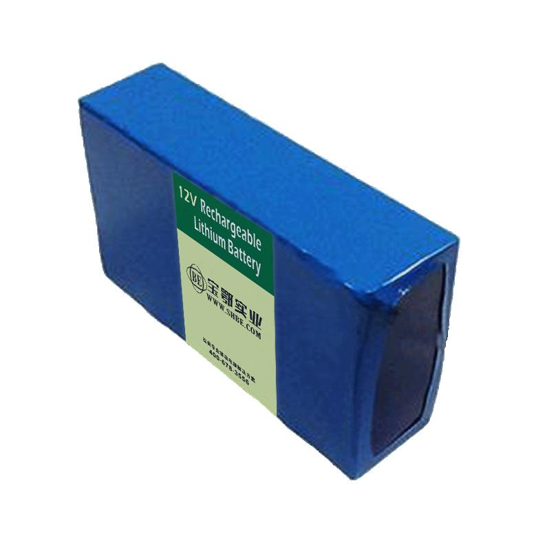 14.8V-24AH智能环保烟气分析仪锂离子18650电池组