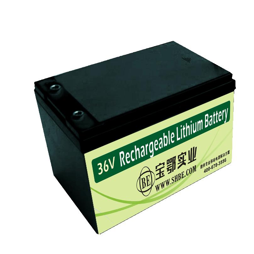 36V-12AH松下 AGV机器人锂电池  485通信铁锂