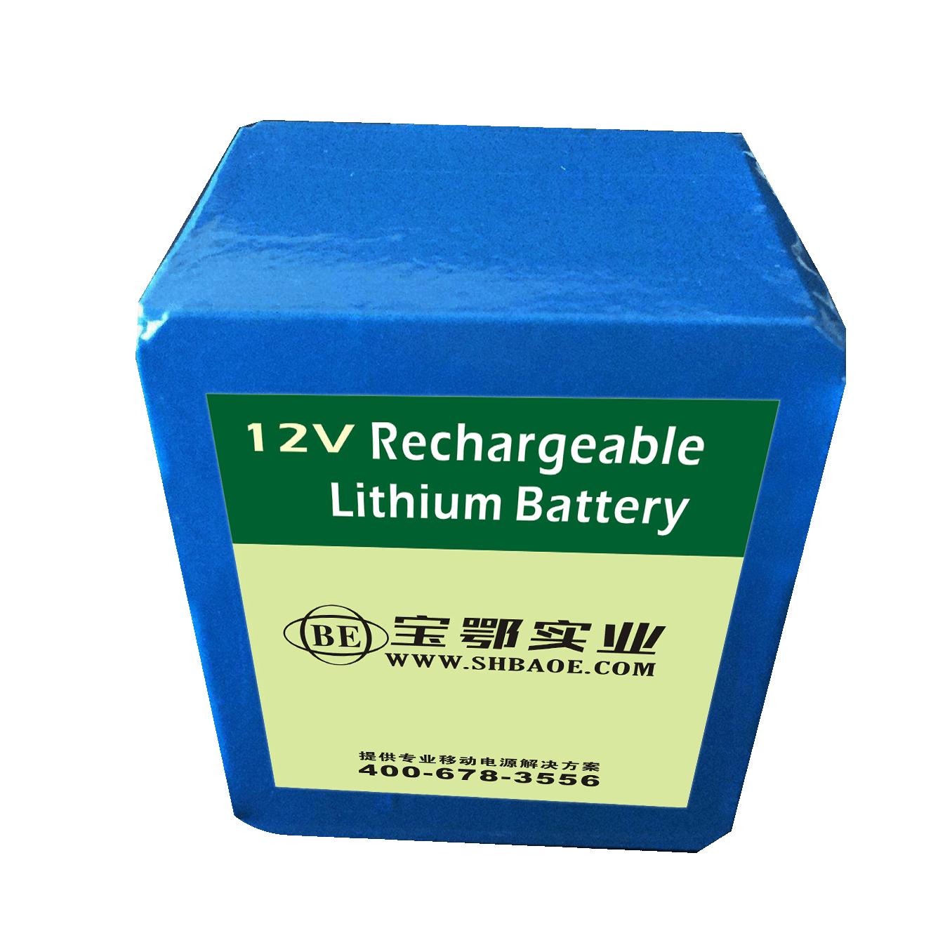多功能胎儿监护仪智能18650锂离子电池组