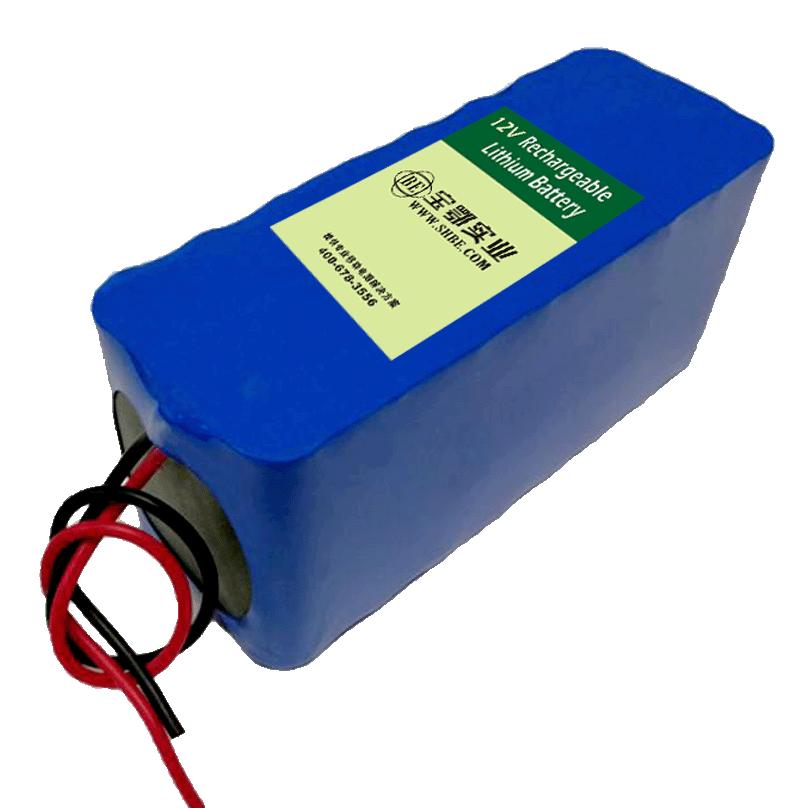 12V 22AH 泥石流监测设备锂电池 地震测控仪储能电