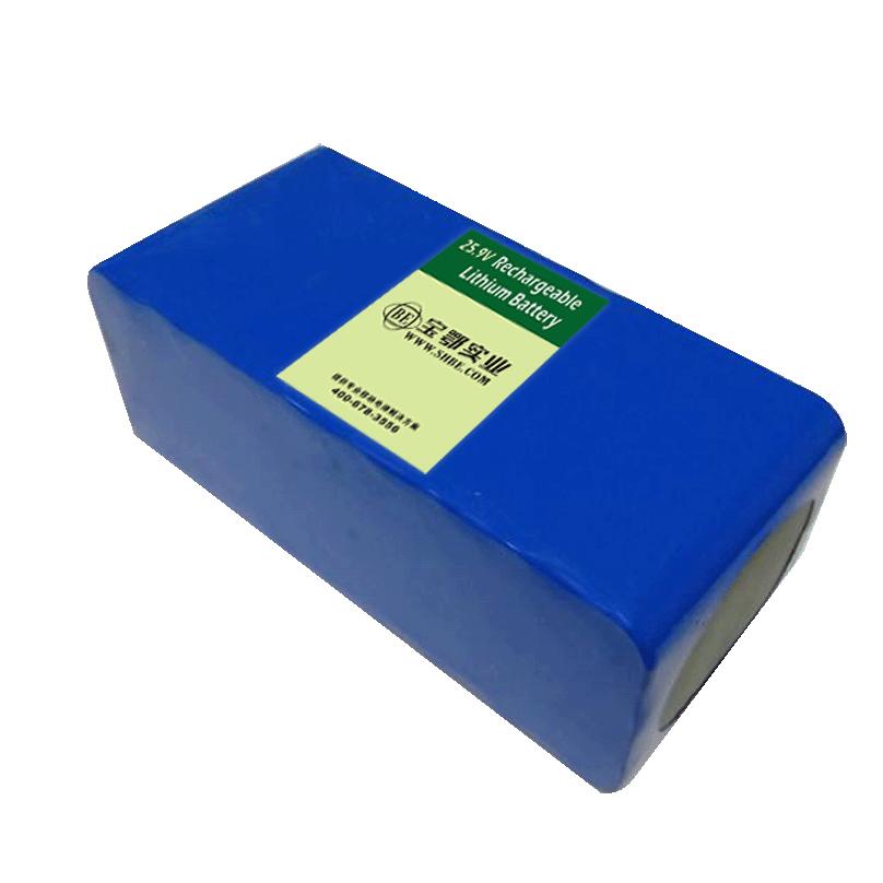 25.9V8AH太阳能储能锂电池组