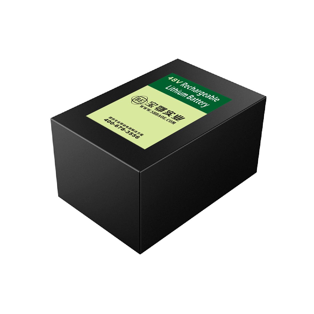 48V-34.8AH仓储智能物流车锂电池
