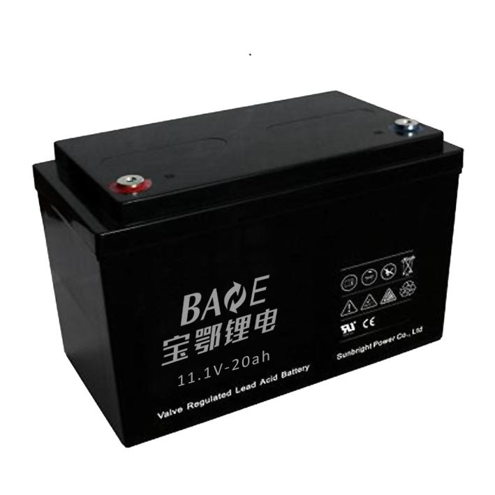 数据采集锂电池组11.1V-20AH