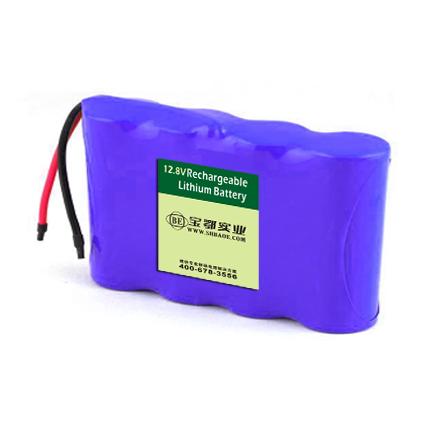 12V-4AH磷酸铁锂电池组扫地机器人用