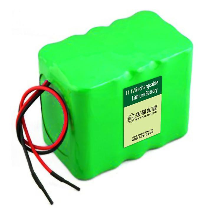 11.1V12AH自动投料设备锂电池组