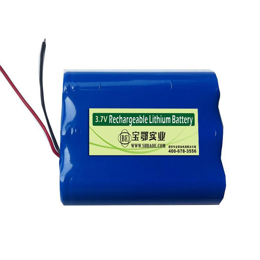 3.7V-7.8AH便携式设备用电池